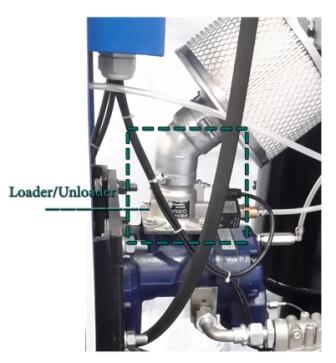 شیر کنترل کننده ورودی هوا کمپرسور اسکرو