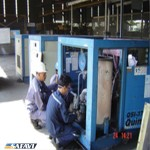 آموزش نصب و راه اندازی کمپرسور هوا اسکرو